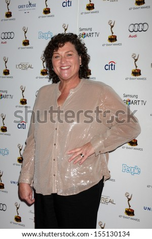 LOS ANGELES - SEP 20:  Dot Marie Jones at the Emmys Performers Nominee Reception at  Pacific Design Center on September 20, 2013 in West Hollywood, CA - stock photo