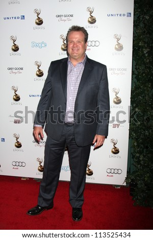LOS ANGELES - SEP 21:  Eric Stonestreet arrives at the Primetime Emmys Performers Nominee Reception at Spectra by Wolfgang Puck on September 21, 2012 in Los Angeles, CA - stock photo