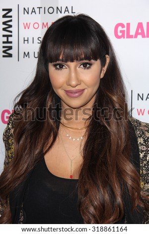 LOS ANGELES - SEP 19:  Jackie Cruz at the 4th Annual Women Making History Brunch at the Skiirball Cultural Center on September 19, 2015 in Los Angeles, CA - stock photo