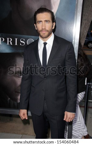 "LOS ANGELES - SEP 12:  Jake Gyllenhaal at the ""Prisoners"" World Premiere at Academy of Motion Picture Arts and Sciences on September 12, 2013 in Beverly Hills, CA"