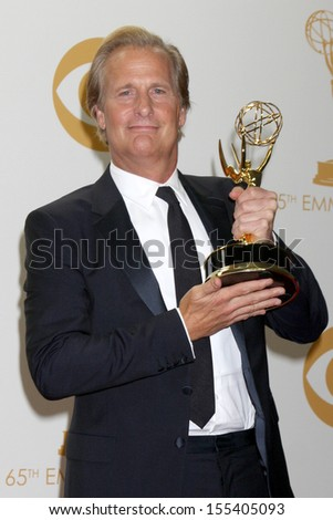 LOS ANGELES - SEP 22:  Jeff Daniels at the 65th Emmy Awards - Press Room at Nokia Theater on September 22, 2013 in Los Angeles, CA