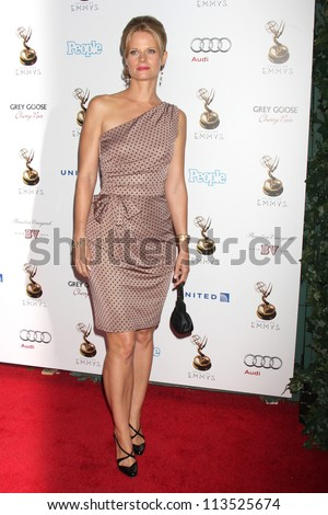LOS ANGELES - SEP 21:  Joelle Carter arrives at the Primetime Emmys Performers Nominee Reception at Spectra by Wolfgang Puck on September 21, 2012 in Los Angeles, CA - stock photo