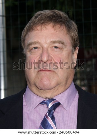 """LOS ANGELES - SEP 19:  John Goodman arrives to """"Trouble With The Curve"""" Los Angeles Premiere  on September 19, 2012 in Westwood, CA                 - stock photo"""