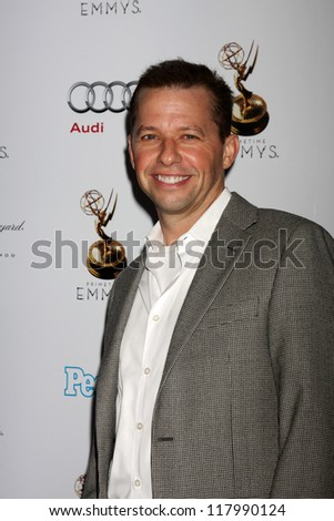 LOS ANGELES - SEP 21:  Jon Cryer arrives at the Primetime Emmys Performers Nominee Reception at Spectra by Wolfgang Puck on September 21, 2012 in Los Angeles, CA - stock photo