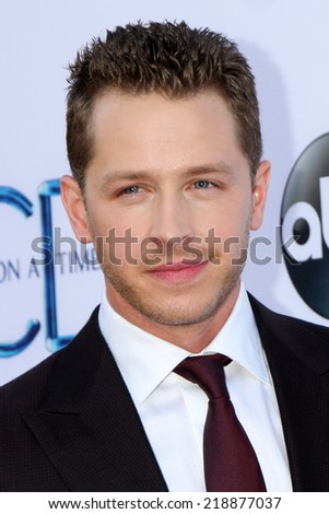 "LOS ANGELES - SEP 21:  Josh Dallas at the ""Once Upon a Time"" Special Screening at El Capitan Theater on September 21, 2014 in Los Angeles, CA"