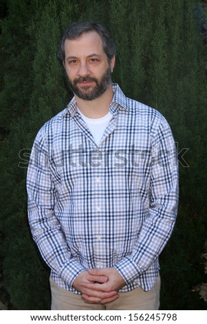 LOS ANGELES - SEP 29:  Judd Apatow at the Rape Foundation Annual Brunch at Green Acres Estate on September 29, 2013 in Beverly Hills, CA - stock photo