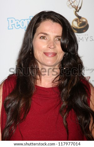 LOS ANGELES - SEP 21:  Julia Ormond arrives at the Primetime Emmys Performers Nominee Reception at Spectra by Wolfgang Puck on September 21, 2012 in Los Angeles, CA - stock photo