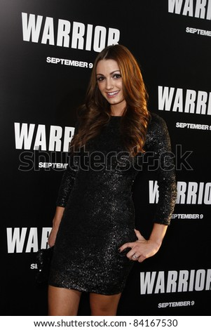 LOS ANGELES - SEP 6: Julia Stockstad at the world premiere of 'Warrior' on September 6, 2011 in Los Angeles, California