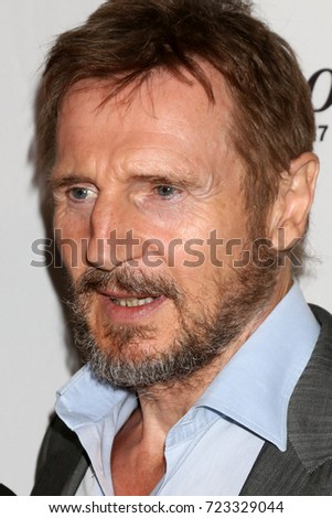"LOS ANGELES - SEP 26:  Liam Neeson at the ""Mark Felt: The Man Who Brought Down The White House"" Premiere at the Writers Guild Theater on September 26, 2017 in Beverly Hills, CA"