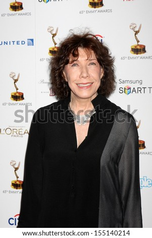 LOS ANGELES - SEP 20:  Lily Tomlin at the Emmys Performers Nominee Reception at  Pacific Design Center on September 20, 2013 in West Hollywood, CA - stock photo
