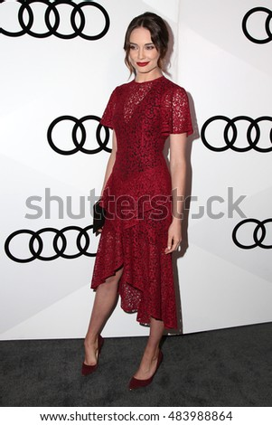 LOS ANGELES - SEP 15:  Mallory Jansen at the Audi Celebrates The 68th Emmys at the Catch on September 15, 2016 in West Hollywood, CA
