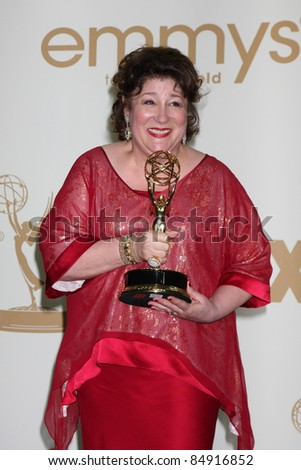 LOS ANGELES - SEP 18:  Margo Martindale in the Press Room at the 63rd Primetime Emmy Awards at Nokia Theater on September 18, 2011 in Los Angeles, CA