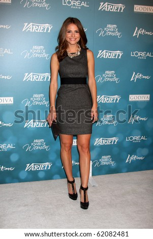 LOS ANGELES - SEP 30:  Maria Menounos arrives at  Variety's 2nd Annual Power of Women Luncheon at Beverly Hills Hotel on September 30, 2010 in Beverly Hills, CA