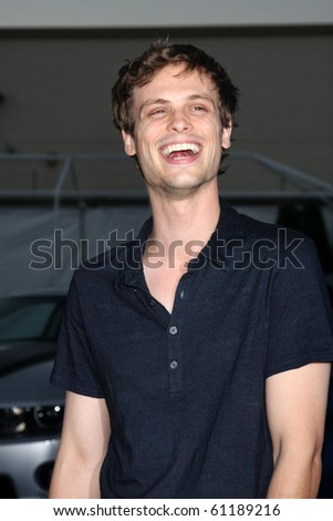 LOS ANGELES - SEP 16:  Matthew Gray Gubler arrives at the CBS Fall Party 2010 at The Colony on September 16, 2010 in Los Angeles, CA