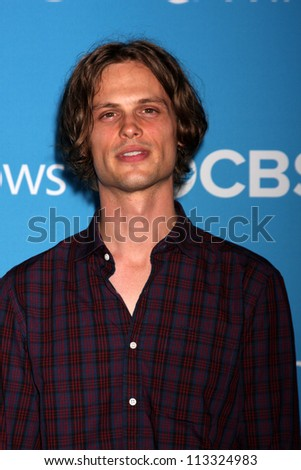 LOS ANGELES - SEP 15:  Matthew Gray Gubler arrives at the CBS 2012 Fall Premiere Party at Greystone Manor on September 15, 2012 in Los Angeles, CA