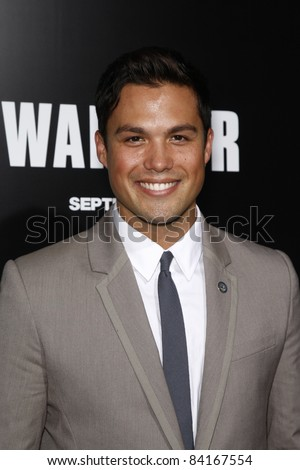 LOS ANGELES - SEP 6: Michael Copon at the world premiere of 'Warrior' on September 6, 2011 in Los Angeles, California