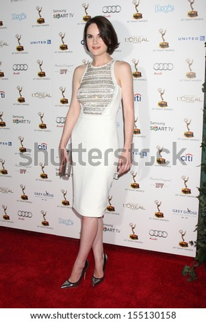 LOS ANGELES - SEP 20:  Michelle Dockery at the Emmys Performers Nominee Reception at  Pacific Design Center on September 20, 2013 in West Hollywood, CA - stock photo