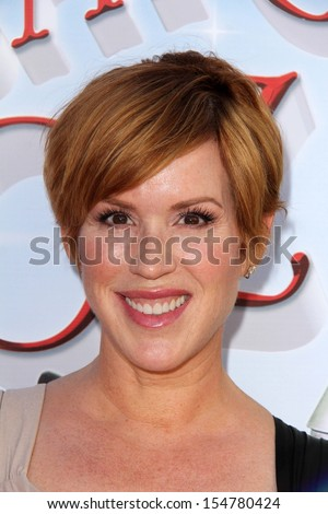 """LOS ANGELES - SEP 15:  Molly Ringwald at the """"The Wizard Of Oz 3D"""" World Premiere Screening at TCL Chinese IMAX Theate on September 15, 2013 in Los Angeles, CA - stock photo"""