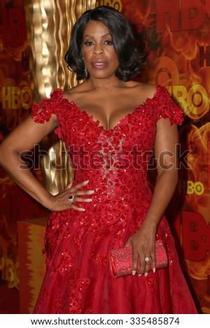 LOS ANGELES - SEP 20:  Niecy Nash at the HBO Primetime Emmy Awards After-Party at the Pacific Design Center on September 20, 2015 in West Hollywood, CA - stock photo