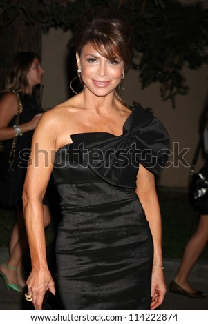 LOS ANGELES - SEP 29:  Paula Abdul arrives at the 2012 Environmental Media Awards at Warner Brothers Studio on September 29, 2012 in Burbank, CA