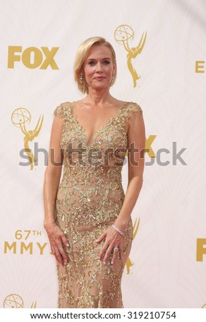 LOS ANGELES - SEP 20:  Penelope Ann Miller at the Primetime Emmy Awards Arrivals at the Microsoft Theater on September 20, 2015 in Los Angeles, CA - stock photo
