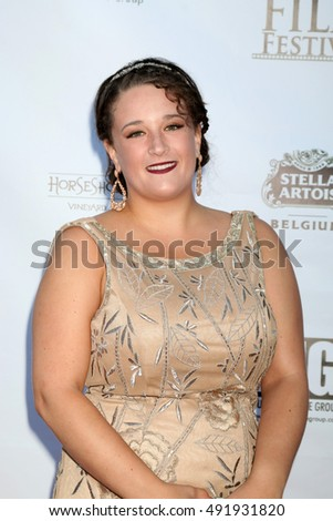 LOS ANGELES - SEP 30:  Rachel Gerlach at the Catalina Film Festival - Friday at the Casino on September 30, 2016 in Avalon, Catalina Island, CA