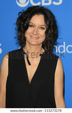 LOS ANGELES - SEP 18: Sara Gilbert at the CBS 2012 Fall Premiere party at Greystone Manor on September 18, 2012 in Los Angeles, California
