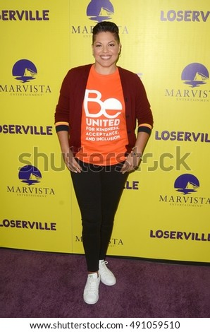 "LOS ANGELES - SEP 29:  Sara Ramirez at the ""Loserville"" Premiere at the ArcLight Hollywood Theaters on September 29, 2016 in Los Angeles, CA"