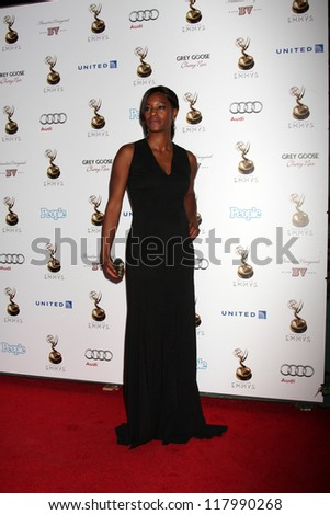 LOS ANGELES - SEP 21:  Sufe Bradshaw arrives at the Primetime Emmys Performers Nominee Reception at Spectra by Wolfgang Puck on September 21, 2012 in Los Angeles, CA - stock photo