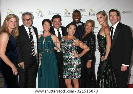LOS ANGELES - SEP 26:  Turks and Caicos Film Festival Group at the Catalina Film Festival Saturday Gala at the Avalon Theater on September 26, 2015 in Avalon, CA
