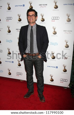LOS ANGELES - SEP 21:  Ty Burrell arrives at the Primetime Emmys Performers Nominee Reception at Spectra by Wolfgang Puck on September 21, 2012 in Los Angeles, CA - stock photo