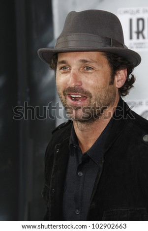 LOS ANGELES - SEPT 25: Patrick Dempsey at the IRIS, A Journey Through the World of Cinema by Cirque du Soleil premiere at the Kodak Theater on September 25, 2011  in Los Angeles, California