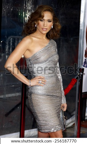 """LOS ANGELES, USA - APRIL 21: Jennifer Lopez at the Los Angeles Premiere of """"The Back-up Plan"""" held at the Regency Village Theatre in Westwood, USA on April 21, 2010. - stock photo"""