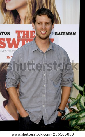 """LOS ANGELES, USA - AUGUST 16: Jon Heder at the Los Angeles Premiere of """"The Switch"""" held at the ArcLight Cinemas in Hollywood, USA on August 16, 2010. - stock photo"""