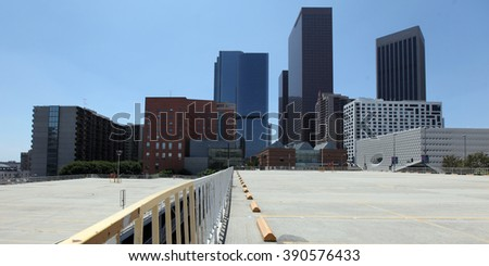 Los Angeles - USA - August 15, 2015 picture Los Angeles - USA - August 15, 2015 picture Bunker Hill financial district