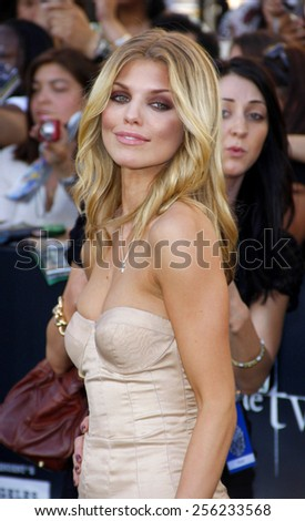 "LOS ANGELES, USA - JUNE 24: AnnaLynne McCord at the Los Angeles Premiere of ""The Twilight Saga: Eclipse"" held at the Nokia LA Live Theater in Los Angeles, USA on June 24, 2010. - stock photo"