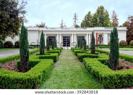 LOS ANGELES, USA   JUNE 06, 2009: Huntington Library And Gardens, Pasadena