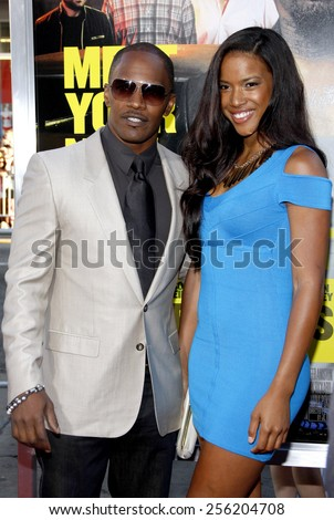 """LOS ANGELES, USA - JUNE 30: Jamie Foxx at the Los Angeles Premiere of """"Horrible Bosses"""" held at the Grauman's Chinese Theater in Hollywood, USA on June 30, 2011. - stock photo"""