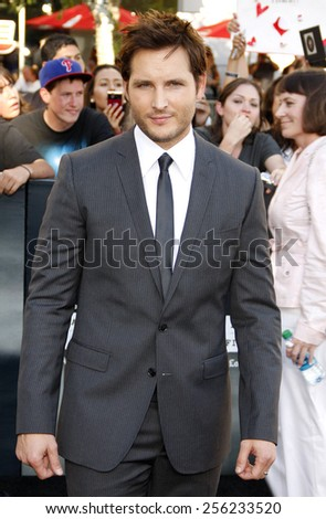 "LOS ANGELES, USA - JUNE 24: Peter Facinelli at the Los Angeles Premiere of ""The Twilight Saga: Eclipse"" held at the Nokia LA Live Theater in Los Angeles, USA on June 24, 2010. - stock photo"