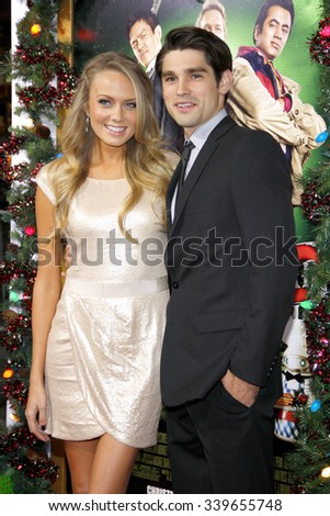 "LOS ANGELES, USA - Melissa Ordway at the Los Angeles Premiere of ""A Very Harold & Kumar 3D Christmas"" held at Grauman's Chinese Theater in Hollywood, USA on November 2, 2011. - stock photo"