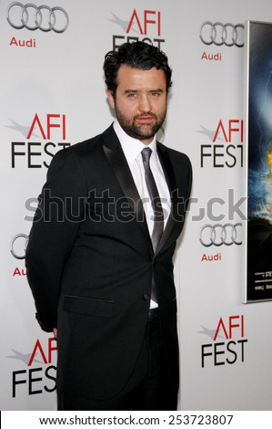 "LOS ANGELES, USA - NOVEMBER 10: Daniel Mays at the AFI FEST 2011 ""The Adventures Of Tintin: The Secret Of The Unicorn"" Closing Night Gala in Los Angeles, USA on November 10, 2011."