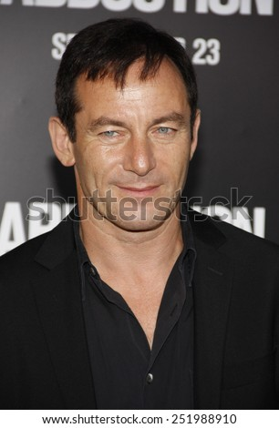 LOS ANGELES, USA - SEPTEMBER 15: Jason Isaacs at the Los Angeles premiere of 'Abduction' held at the Grauman's Chinese Theater in Hollywood, USA on September 15, 2011.