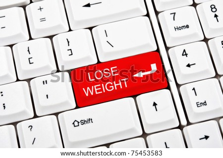 Lose weight in place of enter key