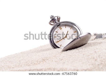 Losing Track of Time - stock photo