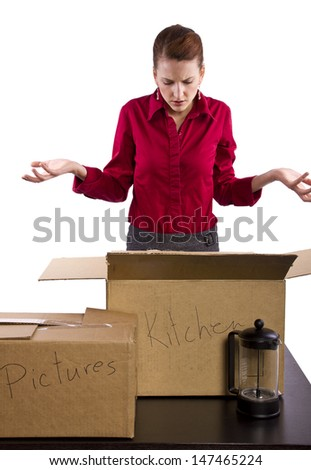 Lost Items - stock photo