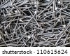 lot of nails background - stock photo