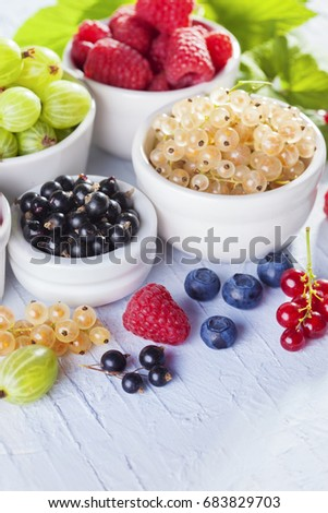 lots of delicious and sweet berry fruits - fruits and vegetables