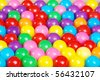 lots of gum balls - stock photo
