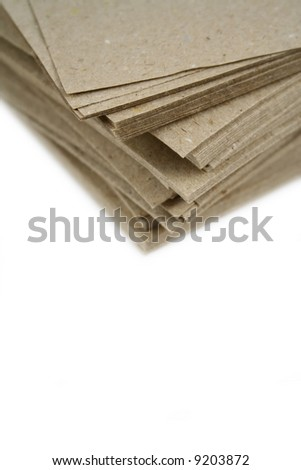 lots of paper - stock photo