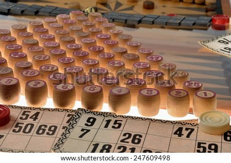 Lotto game - stock photo